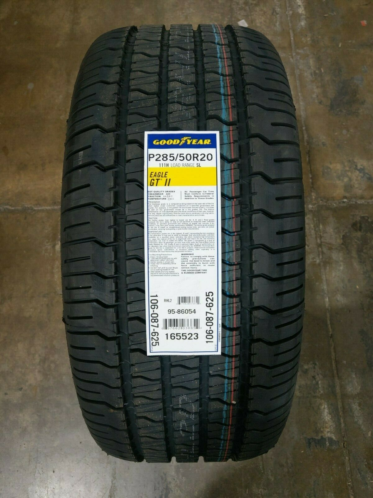 Good Year Eagle GT II 285/50R20