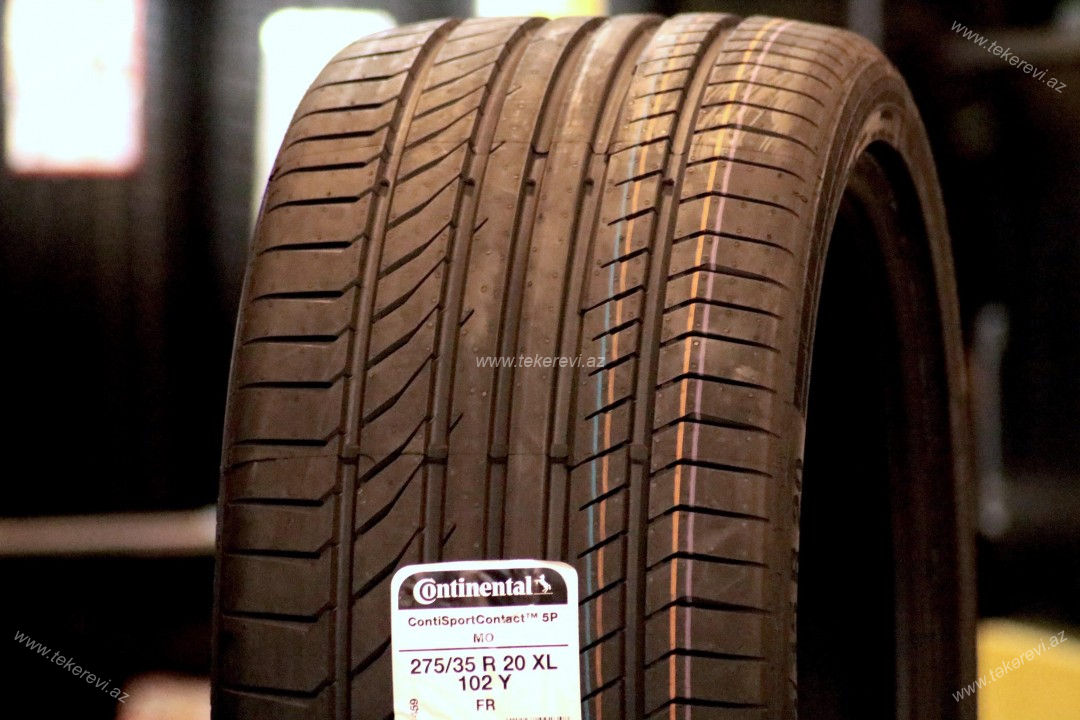 Continental ContiSportContact 5P 275/35R20