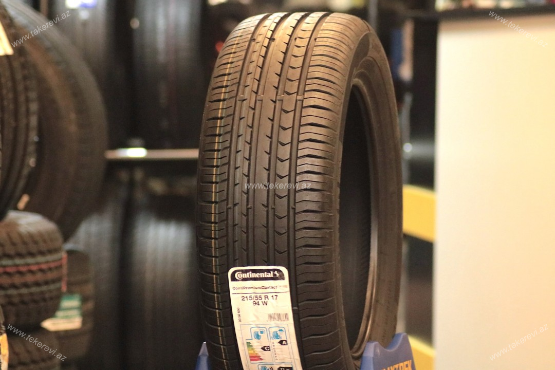 Continental ContiSportContact 5 215/55R17
