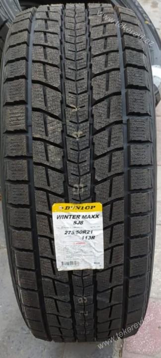 Dunlop Winter Maxx SJ8 275/50R21