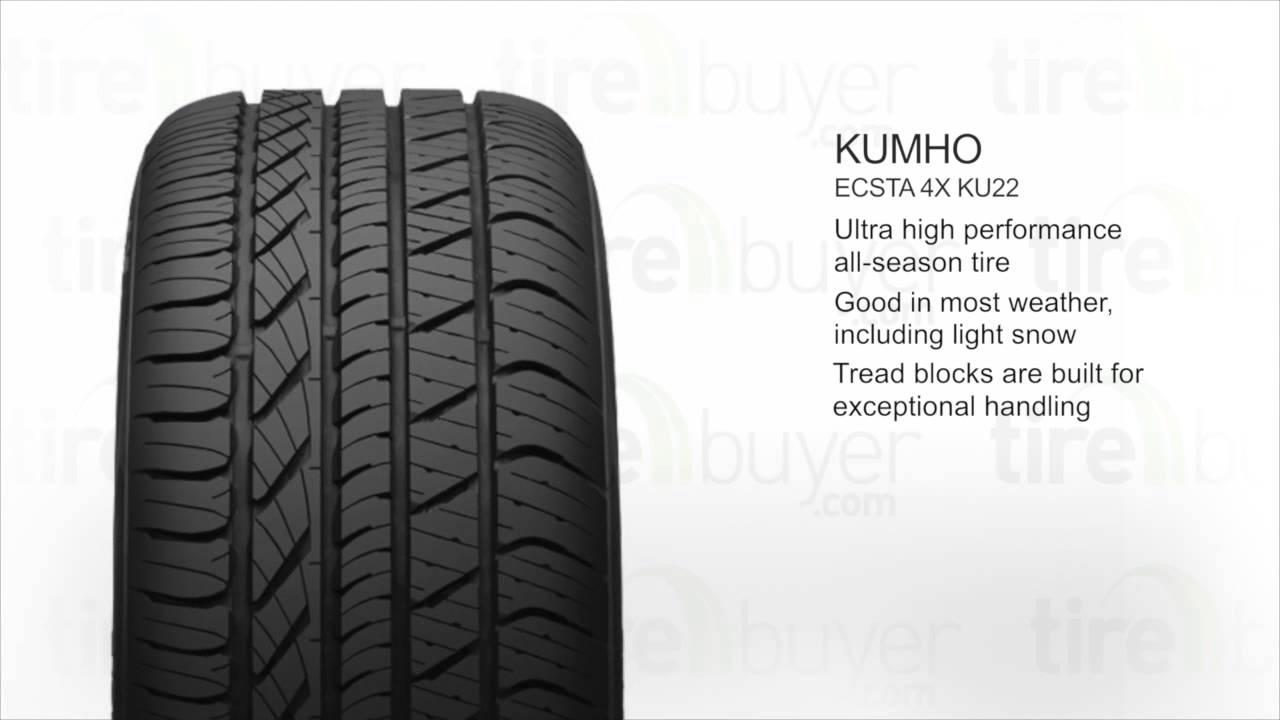 Kumho Kumho Ecsta 4X KU22 ALL-SEASON 205/50R17