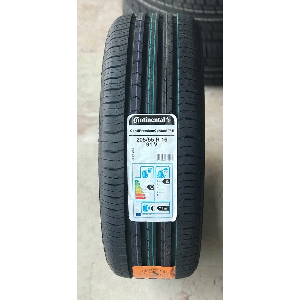 Continental-ContiSportContact 5-205/55R16-91H